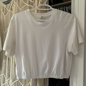 Aritzia Wilfred Cropped T-shirt